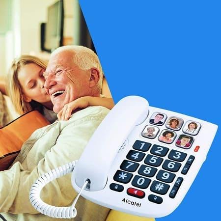 telefono fijo personas mayores